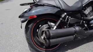 9. 2008 Harley-Davidson VRSCDX/A VRod Night Rob Special in Vivid Black
