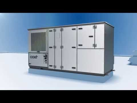 CoolStream R Evaporative Cooler: For cooling, heating & ventilation
