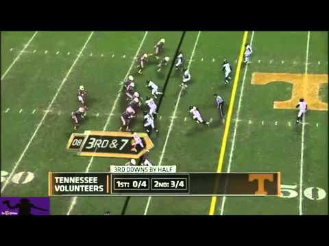 Josh Dobbs vs Vanderbilt 2013 video.