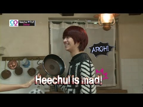 HEECHUL - Global We Got Married - Season 2 우리 결혼했어요 세계판 - 시즌 2 Romantic and Sweet Stories of Stars' Newly Married Life featuring Kim Heechul from Super Junior with Guo Xue Fu(Puff...