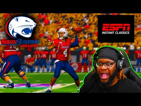 Season Finale Comes Down To THIS Play! - CFB Revamped Dynasty   South Alabama Jaguars - Ep 13