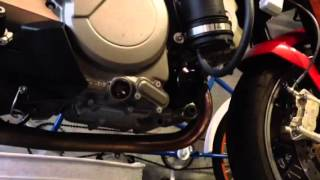 8. Aprilia Mana 850 Oil Change