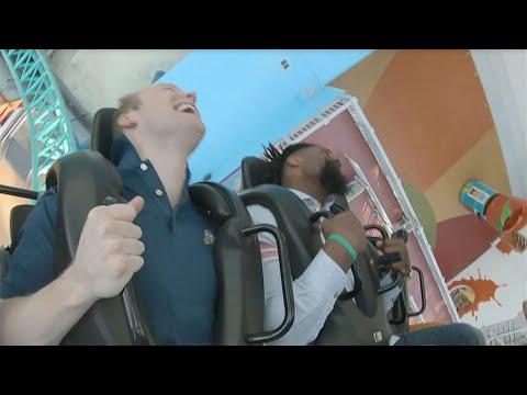 Video: Saints' Cameron Jordan takes a Super Bowl roller coaster ride