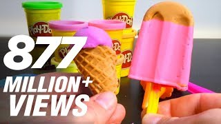 Video Play Doh Ice cream cupcakes playset playdough by Unboxingsurpriseegg MP3, 3GP, MP4, WEBM, AVI, FLV Februari 2018