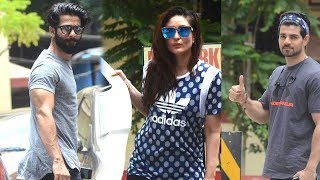 SPOTTED: Kareena Kapoor Khan, Amrita, Shahid-Mira, Farhan, Sooraj Post Their Gym Session | SpotboyE