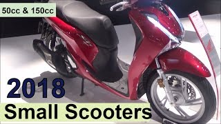 4. The 2018 Small Scooters (50cc up to 150cc)