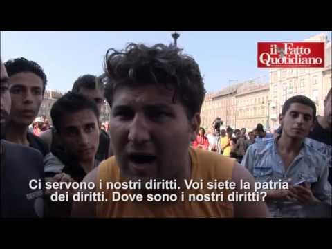 budapest: la polizia blinda la stazione e ferma tutti gli immigrati!