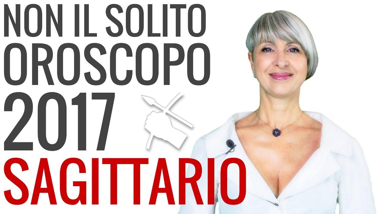 OROSCOPO 2017 ★ Sagittario