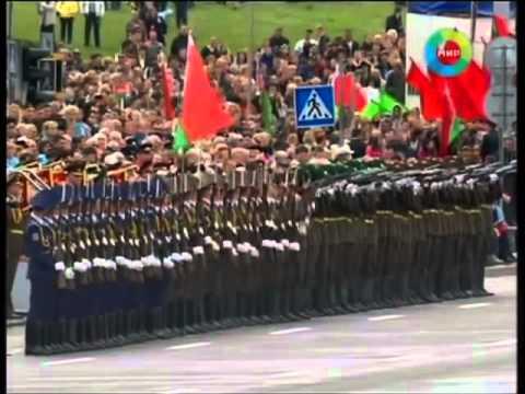 video que muestra un Domino de militares Bielorusos