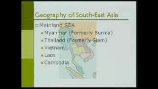 Asian Civilization-Part25-South-East Asia (300 - 1300 AD)