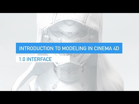 Intro to cinema 4d modeling