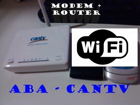 modem Wifi Cantv Router WA41R Solucion de errores comunes + Boton WPS