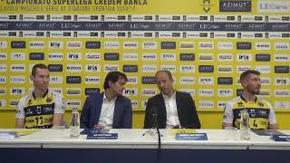 Modena Volley: presentazione partnership Tironi