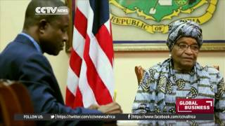 President Sirleaf working to boost Liberian economy