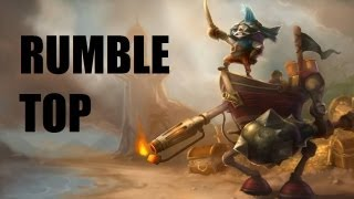 League Of Legends - Rumble Top - Full Game Commentary