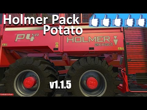 Holmer potato pack v1.0