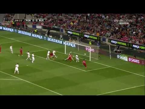 Portugal vs Russia - WC 2014 Qualification Europe