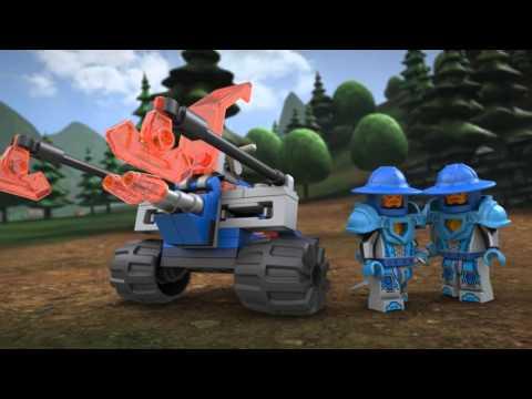 Конструктор Королевский боевой бластер - LEGO NEXO KNIGHTS - фото № 9