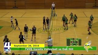 TVHS Volleyball vs Oak Hill Eagles
