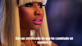 Your love - nicki minaj -- Traducida al español.