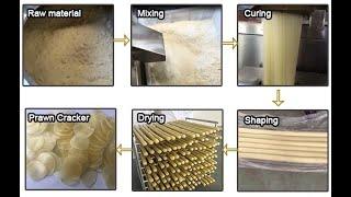 Commerical Prawn Cracker Making Machine krupuk udang Machine Kurupok Chip Making Machine