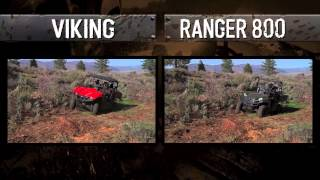 7. Yamaha Viking vs Polaris Ranger 800