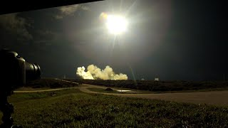 Falcon 9 CRS-5 Launch - GoPro Hero 2 At UCS-3 Tracking Site North Of SLC-40