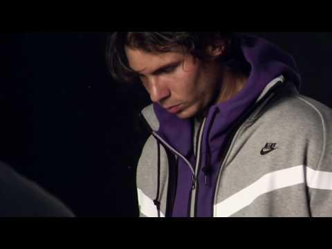 Nike Sportswear x Rafael Nadal   AW77 Hoodie Athlete Style Photo Shoot | Behind the Scene Video
