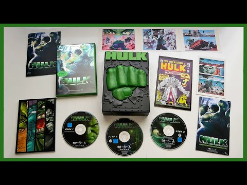 HULK - LIMITED 3-DISC DVD BOX SET + COMIC UNBOXING