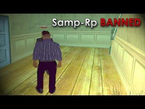 Меня забанили на Samp-Rp