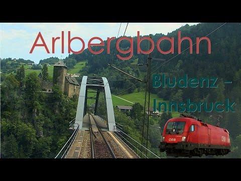 Führerstandsmitfahrt Arlbergbahn Bludenz - Innsbruck [HD] - Cab Ride - ÖBB 1116
