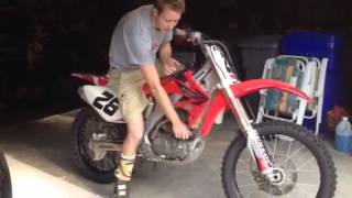 2. 2005 CRF250R for sale July 7 2014