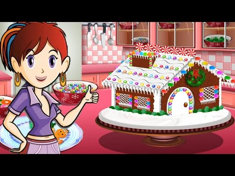 Sara's Cooking Class - Gingerbread House