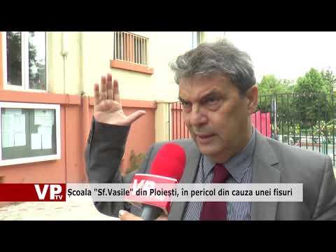 """Școala """"Sf.Vasile"""" din Ploiești, în pericol din cauza unei fisuri"""