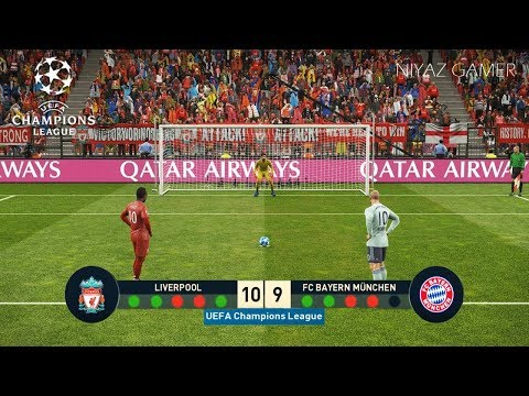 LIVERPOOL Vs BAYERN MUNICH | UEFA Champions League - UCL | Penalty Shootout | PES 2019