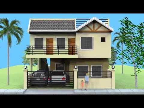 house plan designs - 3 storey w/ roofdeck | bedroom designs