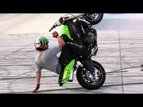 SOCAL - Epic motorcycle stunt session in SoCal with French rider Jorian Ponomareff, Finnish rider Joona Vatanen, Monster Energy rider Jason Britton, Krazy Kyle Rappo...