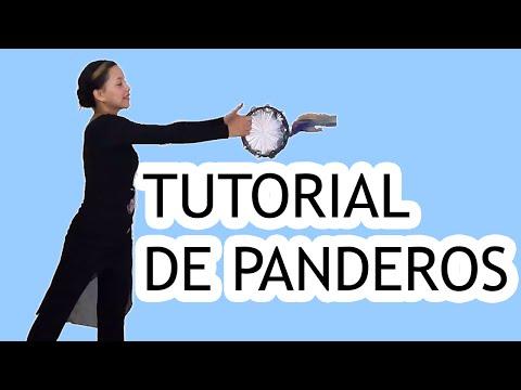Tutorial de Panderos - Danza Cristiana (Rutinas)   Sarah Yuritza