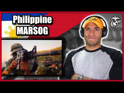 Marine reacts to Philippine Marine Special Operations (MARSOG)