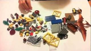 Lego Dino 2012 5883 Tower Takedown Time Lapse Building