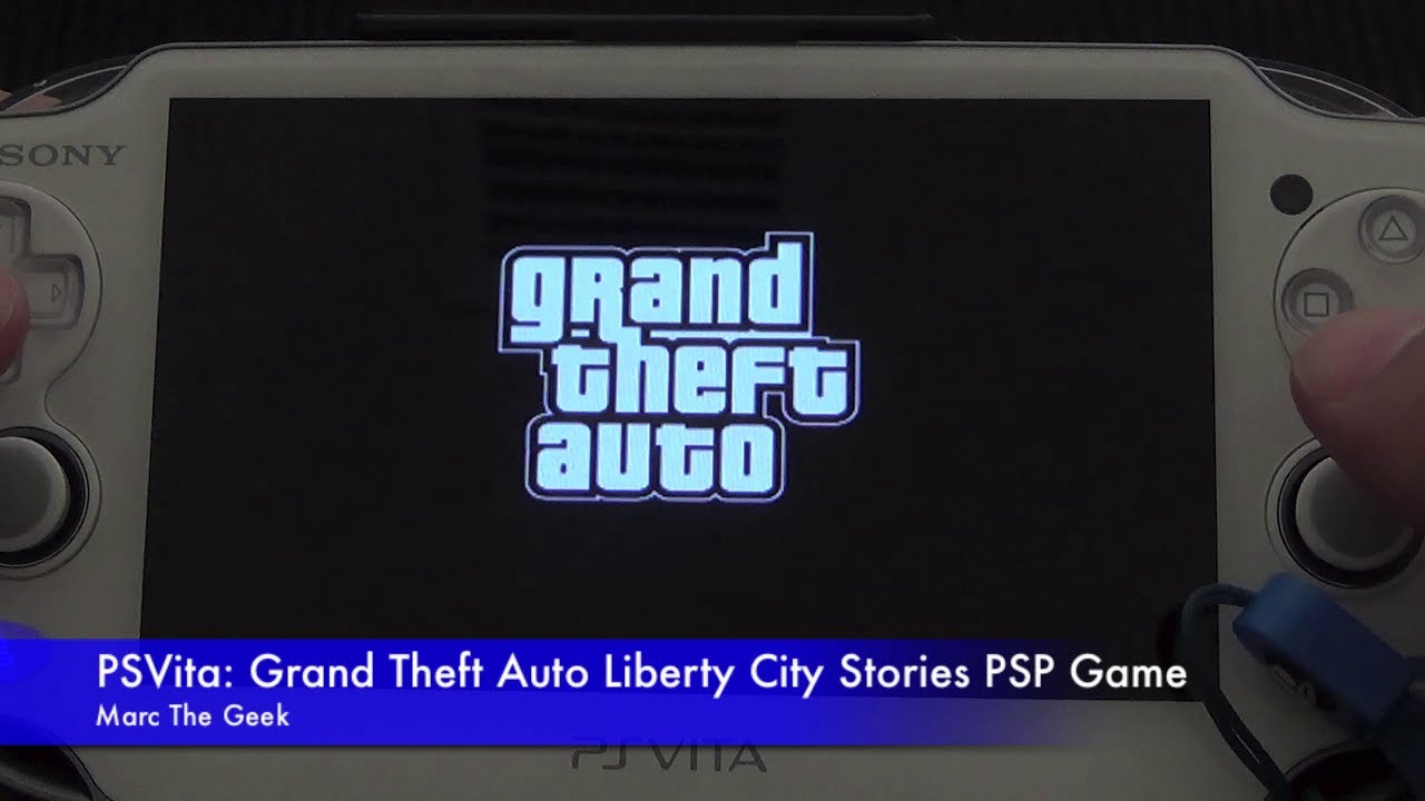 PSVita: Grand Theft Auto Liberty City Stories PSP Game