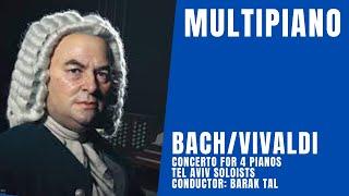 Video Bach-Vivaldi/Concerto for 4 Pianos/MultiPiano Ensemble MP3, 3GP, MP4, WEBM, AVI, FLV Maret 2019