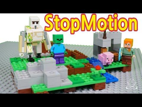 Vidéo LEGO Minecraft 21123 : Le Golem de fer