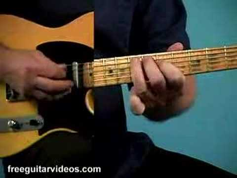 learn blues guitar - Find the tab at: http://www.freeguitarvideos.com/LJ_Bl/minor-blues-licks.html In this lesson by Jody Worrell we'll learn a lick straight out of the A Minor B...