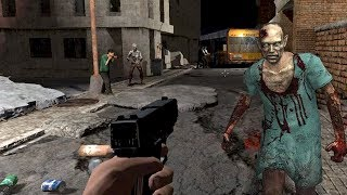 With Walk To The Undead Yalghaar In Zombie Crisis Game survive from the Death? the new real zombie shooting and killing game with beautiful controls. The realistic shooting and swish movement controls provide the player liberty to maneuver simply far away from the Zombies. Player will switch weapons in no time conjointly whereas in moving.Google Play link: https://play.google.com/store/apps/details?id=com.gem.undeadzombie.walk.shooter==========================================► SUBSCRIBE HERE:- https://goo.gl/dkAxut===========================================► FOLLOW ME ON TWITTER:- goo.gl/edgv25► LIKE US ON FACEBOOK:- goo.gl/IPs2wI► CONNECT US ON GOOGLE+:- goo.gl/MuKW3B============================================Your main goal is to survive from the Walk To The Undead Yalghaar In Zombie Crisis Gameplay during this first-person living dead shooter. However it's not as straightforward as a traditional shooting and killing game. You're among the dead, truly living Dead, who haven't any worry of something. They solely smell and sense any living creature among them or near them and need to molding into items at any price. Or till you become the zombie. Survival is that the solely possibility. Second possibility is just killing those fearless undead creatures within the zombie land.Zoom in your piece, rifle, and sniper, keep your finger on the trigger and create deadly single headshots and kill them in single bullet hits. This Walk To The Undead Yalghaar In Zombie Crisis can offer you future hold on ammunition. Conjointly you'll prevent several zombies from you. Are you able to stop the herd of Undead and be real zombie hunter?? As a Zombie Hunter you'll need to kill the zombies regardless of however and what weapons are being employed to destroy them. A spread of weapons square measure given within the game play.SHOOTING ARSENAL/LETHAL WEAPONS: Knife : Use Knife once one, a pair of Zombies are shut enough. It will save your ammunition.Ak47: A master and universal weapon f