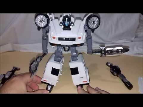 Unboxing Robotic - Robô Transformação Carro de Polícia (Brink+) Eita Robô Difícil de Montar !!
