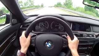 2013 BMW 740Li XDrive - WINDING ROAD POV Test Drive