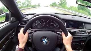 2013 BMW 740Li XDrive - WINDING ROAD POV Test Drive