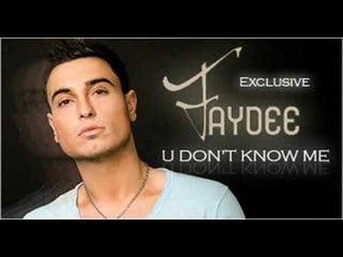 Faydee - You don't know me lyrics