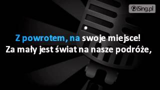 Rafał Brzozowski - Za mały świat (karaoke iSing.pl)